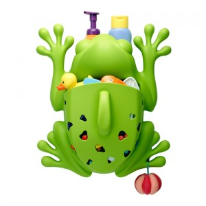 Frog Pod Bath Toy Scoop, Drain and Storage by Boon