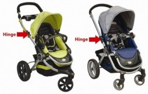 Kolcraft recalls three- and four-wheeled stroller